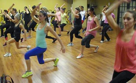Cours de danse de groupe